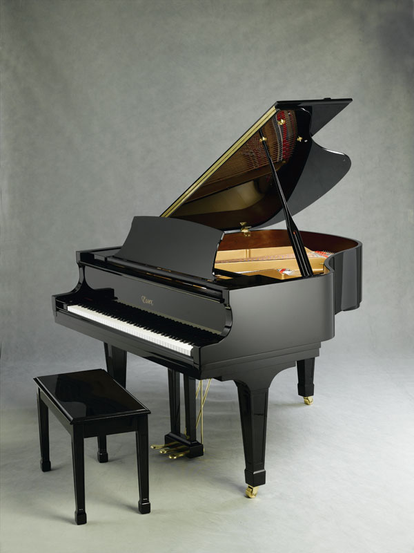 钢琴简笔画彩色